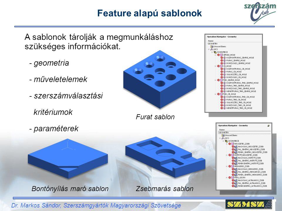 Feature alapú sablonok