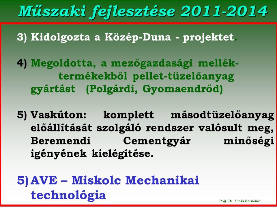 Polgárdi. 2014. december 16. Prof.Dr.Csőke Barnabás
