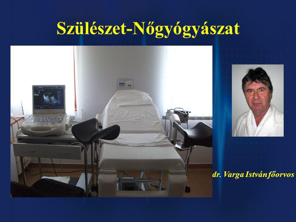Szülészet-Nőgyógyászat dr. Varga István főorvos