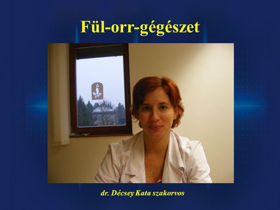 dr. Décsey Kata szakorvos