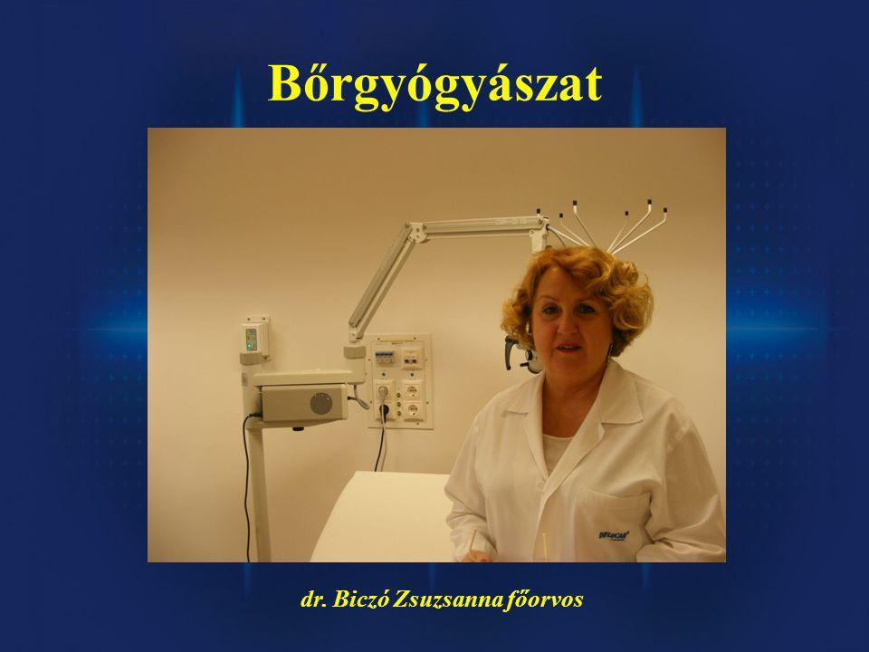 dr. Biczó Zsuzsanna főorvos