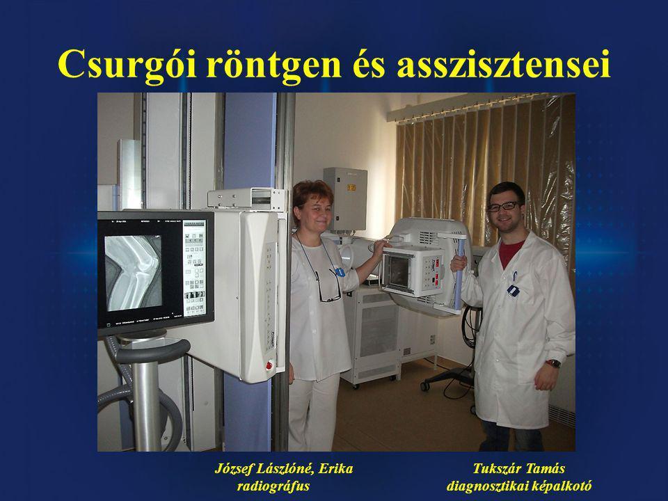 Csurgói röntgen és asszisztensei
