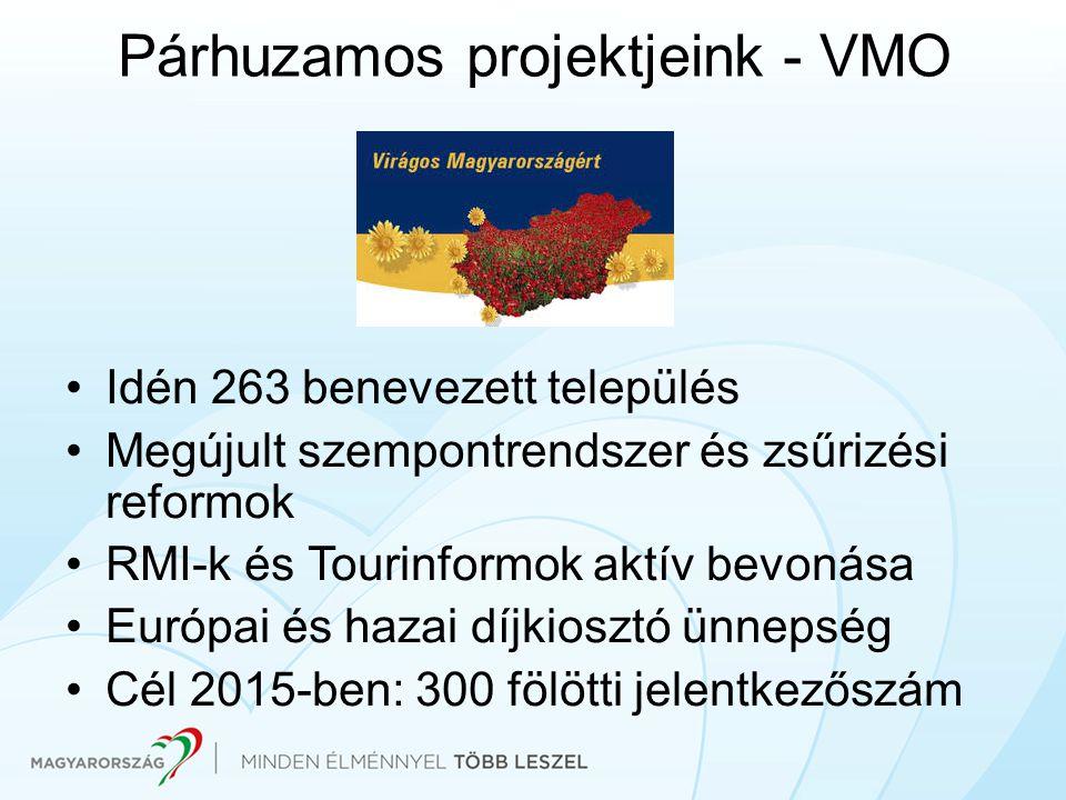 Párhuzamos projektjeink - VMO