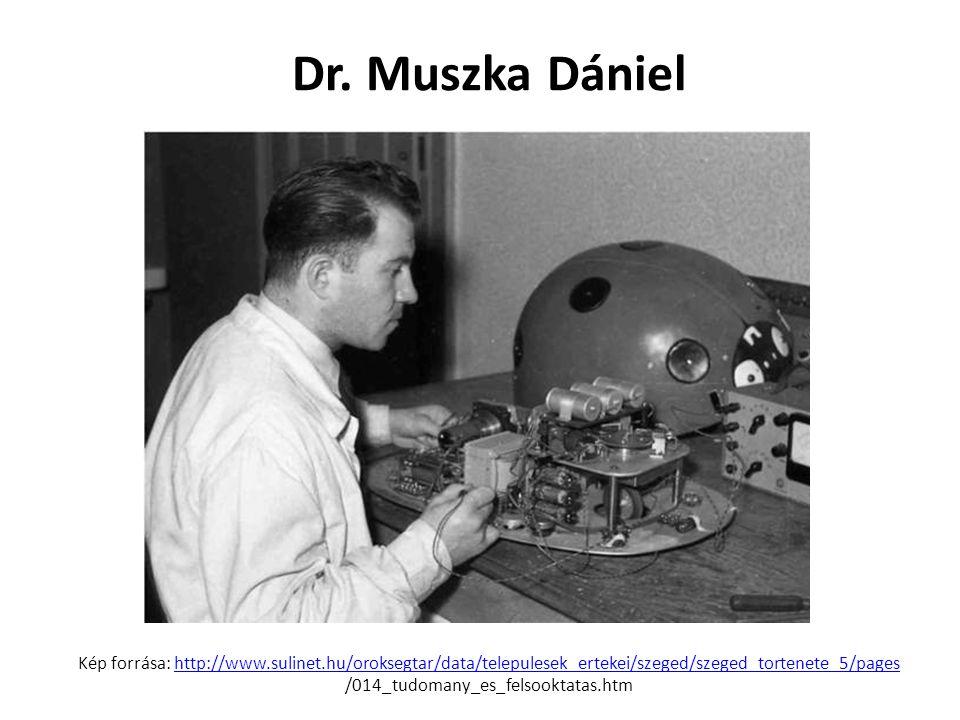 Dr. Muszka Dániel Kép forrása: http://www. sulinet