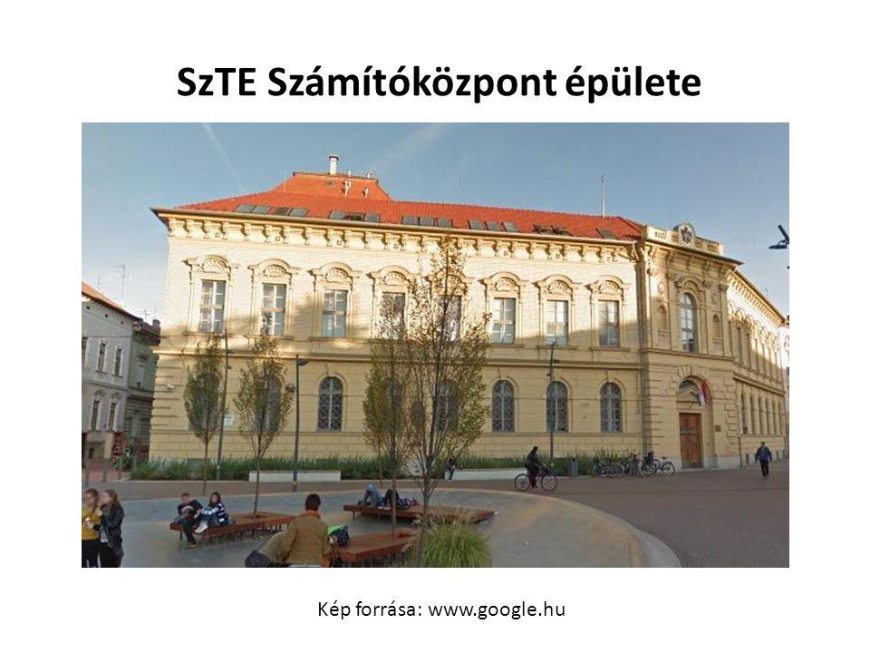 SzTE Számítóközpont épülete
