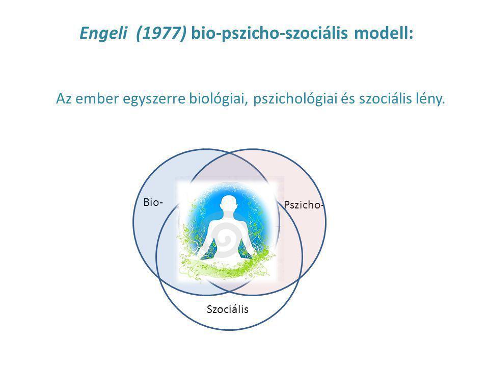 Engeli (1977) bio-pszicho-szociális modell: