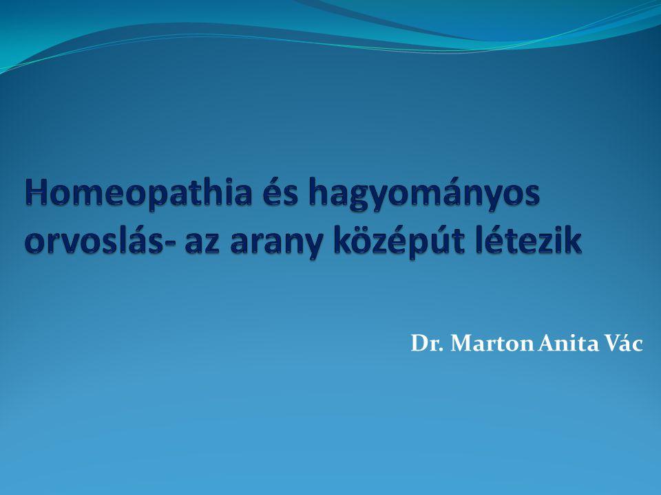 Homeopathia és hagyományos orvoslás- az arany középút létezik
