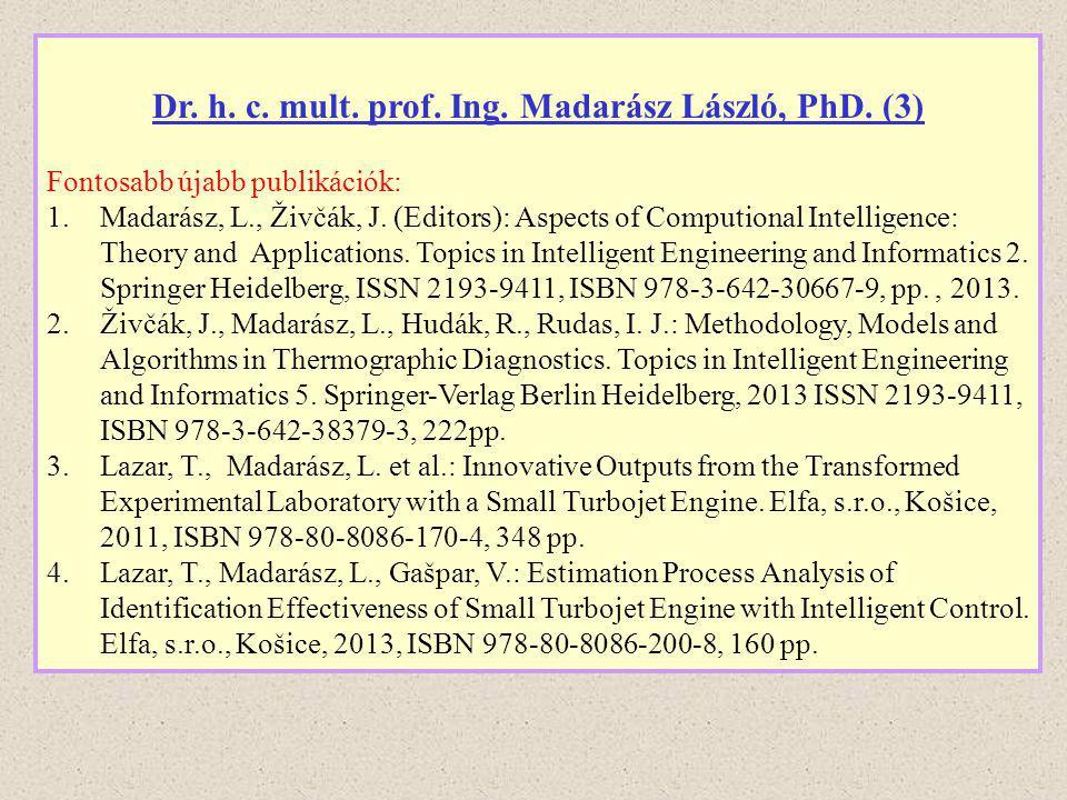 Dr. h. c. mult. prof. Ing. Madarász László, PhD. (3)
