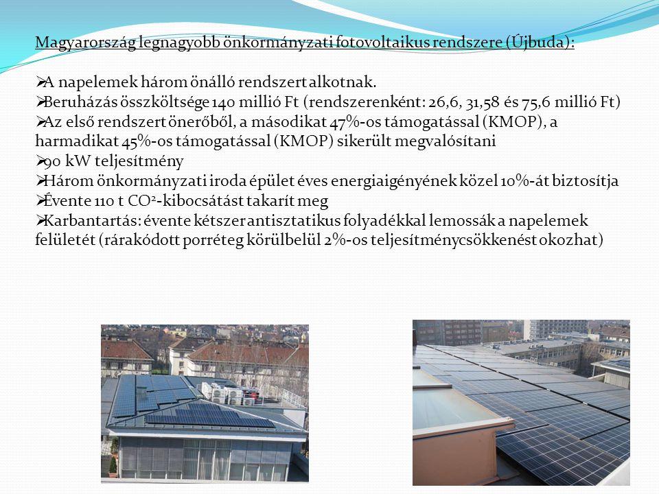 Magyarország legnagyobb önkormányzati fotovoltaikus rendszere (Újbuda):
