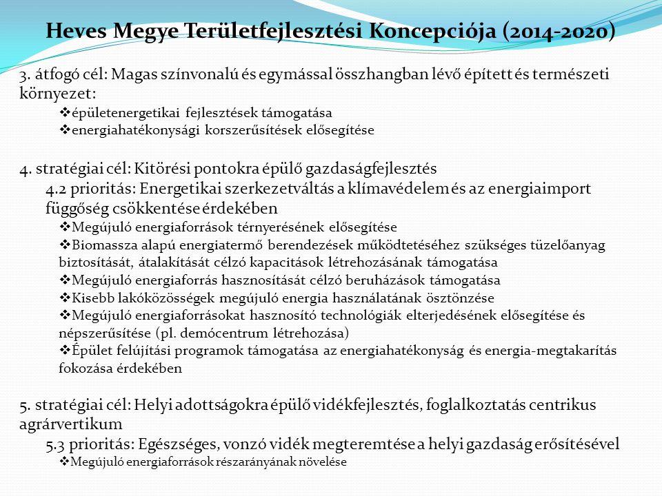 Heves Megye Területfejlesztési Koncepciója (2014-2020)