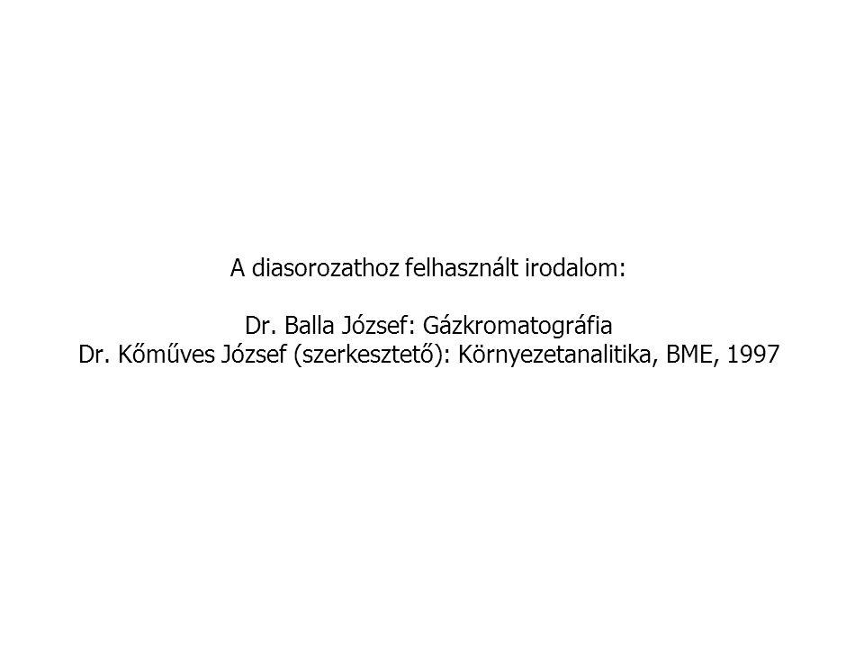 A diasorozathoz felhasznált irodalom: Dr