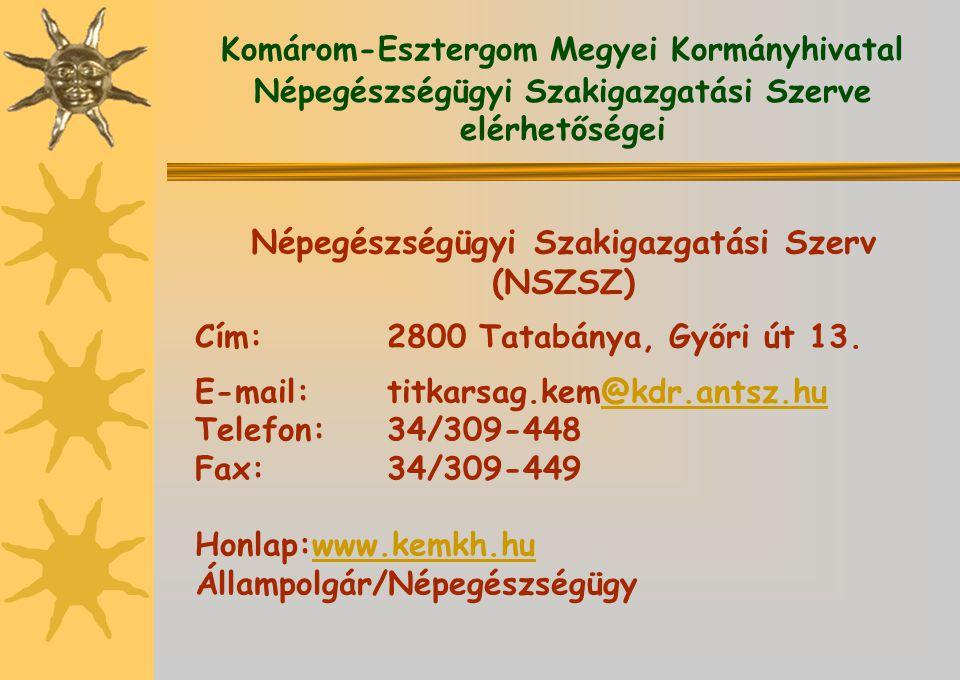 Népegészségügyi Szakigazgatási Szerv (NSZSZ)