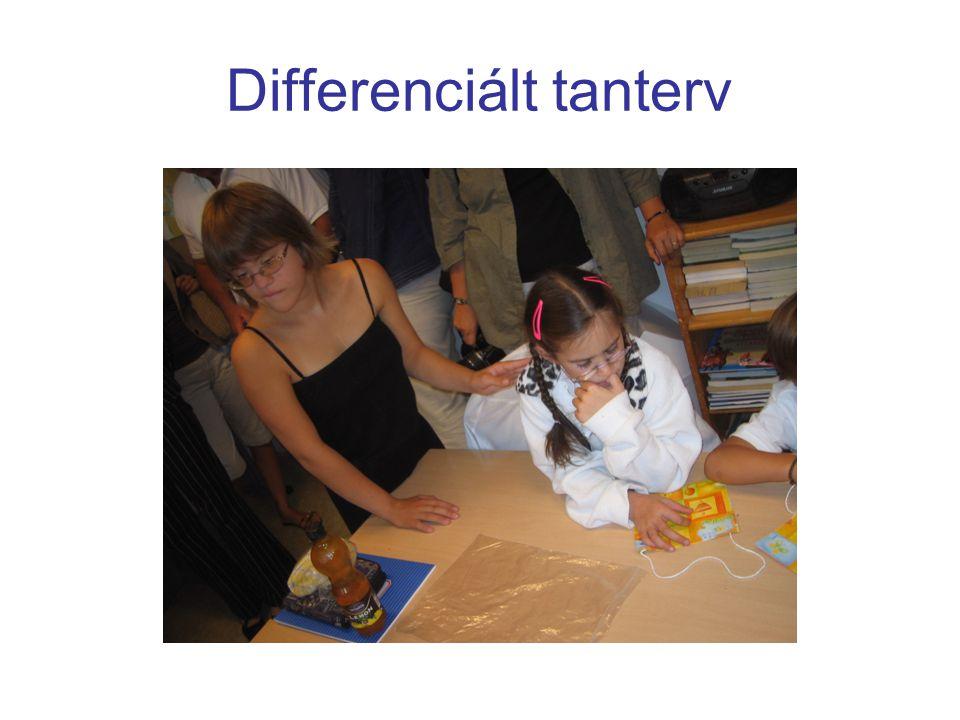 Differenciált tanterv