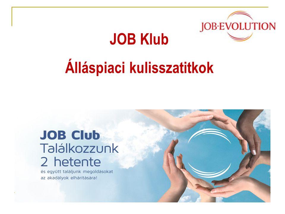JOB Klub Álláspiaci kulisszatitkok