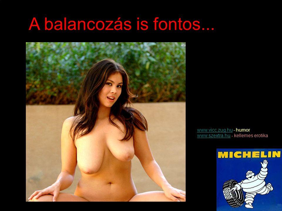 A balancozás is fontos... www.vicc.zug.hu - humor