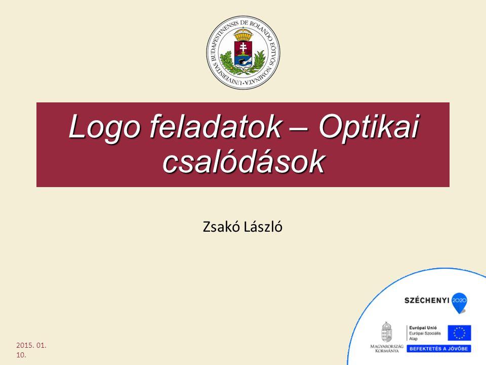Logo feladatok – Optikai csalódások