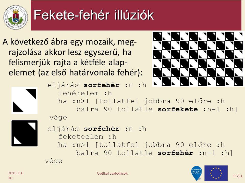 Fekete-fehér illúziók