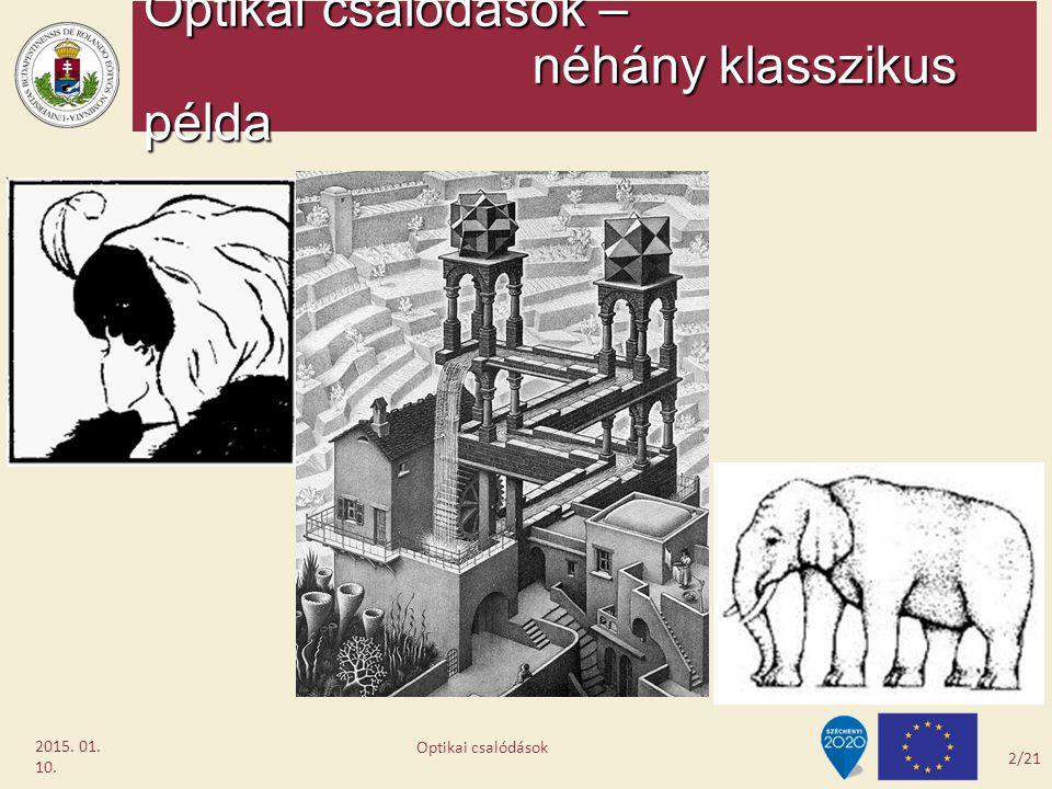 Optikai csalódások – néhány klasszikus példa
