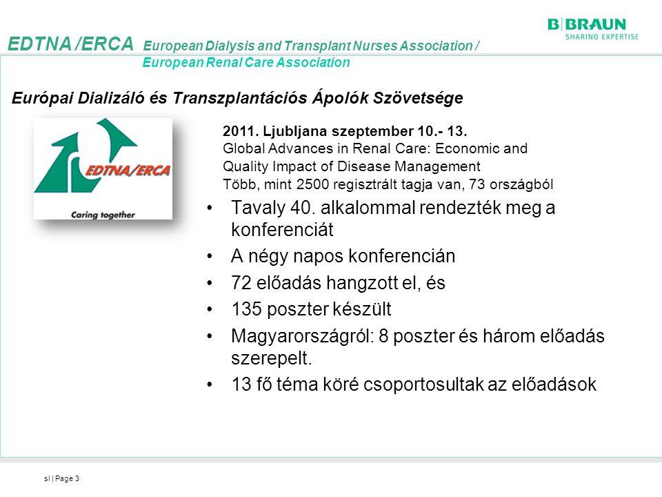 EDTNA /ERCA European Dialysis and Transplant Nurses Association /