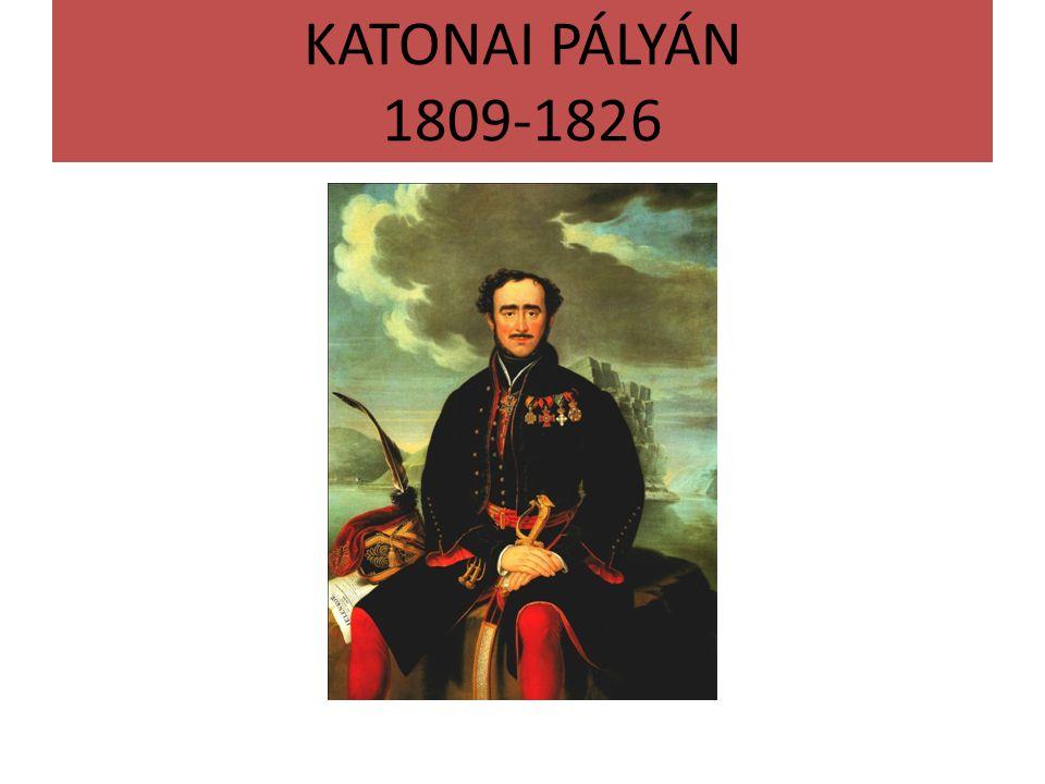 KATONAI PÁLYÁN 1809-1826