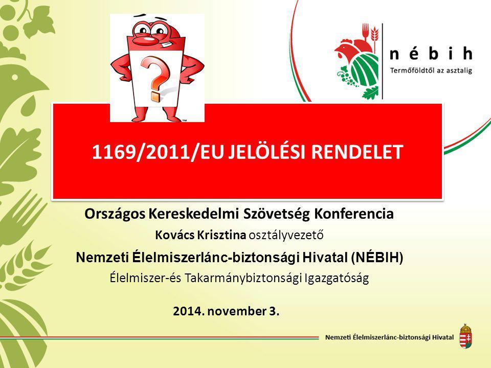 1169/2011/EU jelölési rendelet