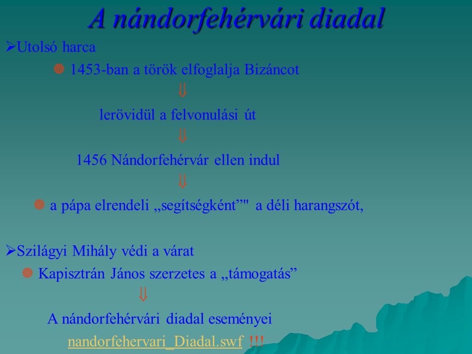 A nándorfehérvári diadal