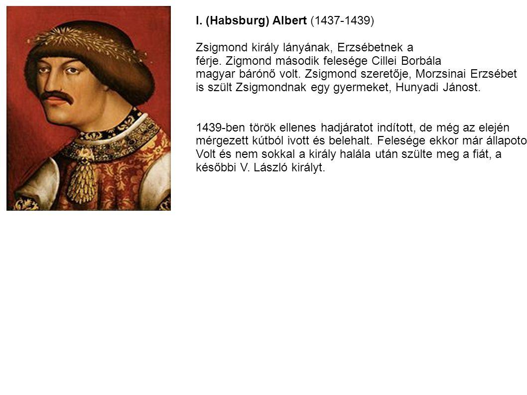 I. (Habsburg) Albert (1437-1439)