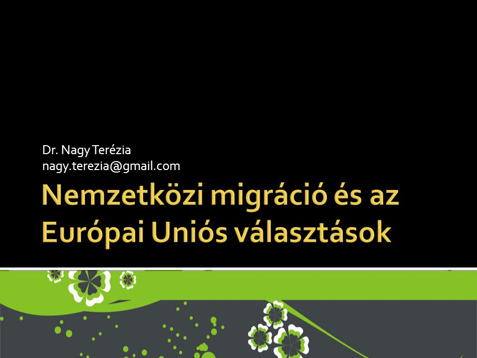 Nemzetközi migráció és az Európai Uniós választások