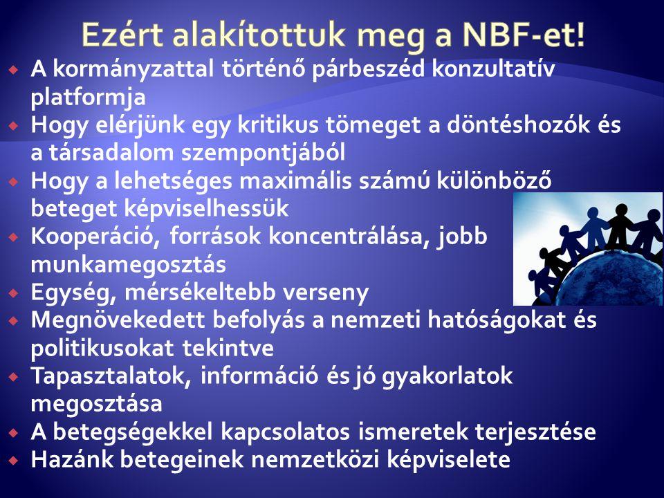 Ezért alakítottuk meg a NBF-et!