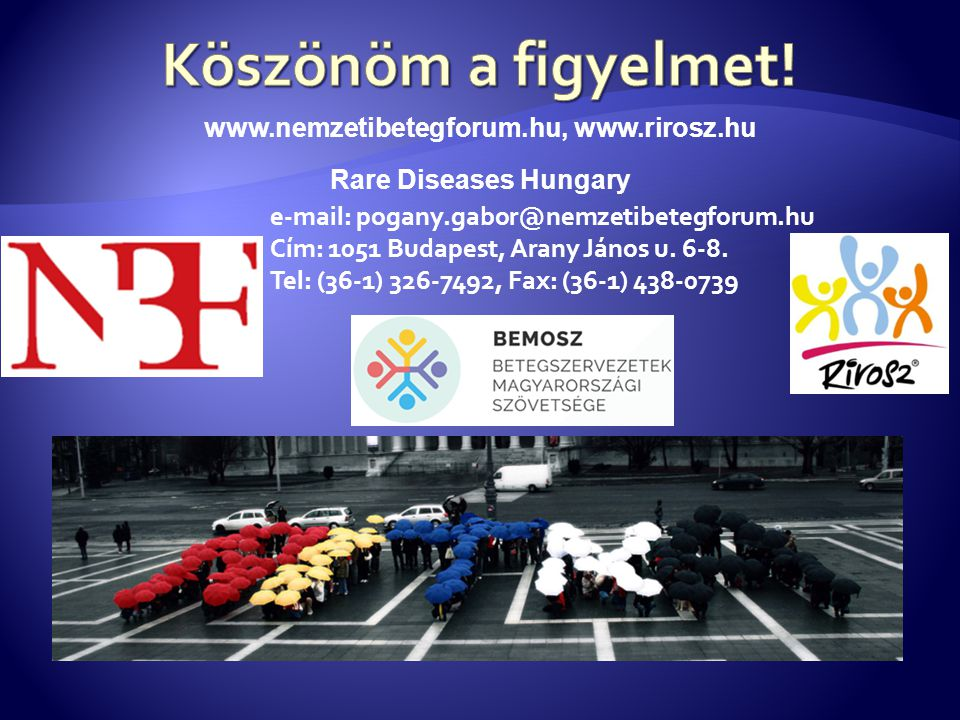 www.nemzetibetegforum.hu, www.rirosz.hu