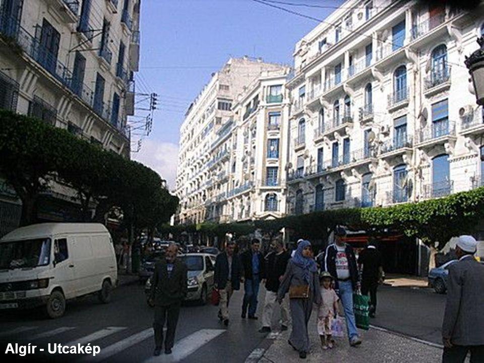 Algír - Utcakép