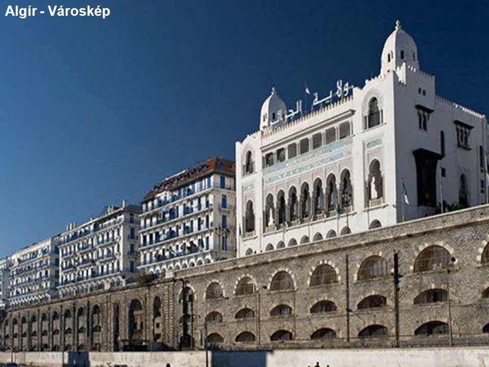 Algír - Városkép