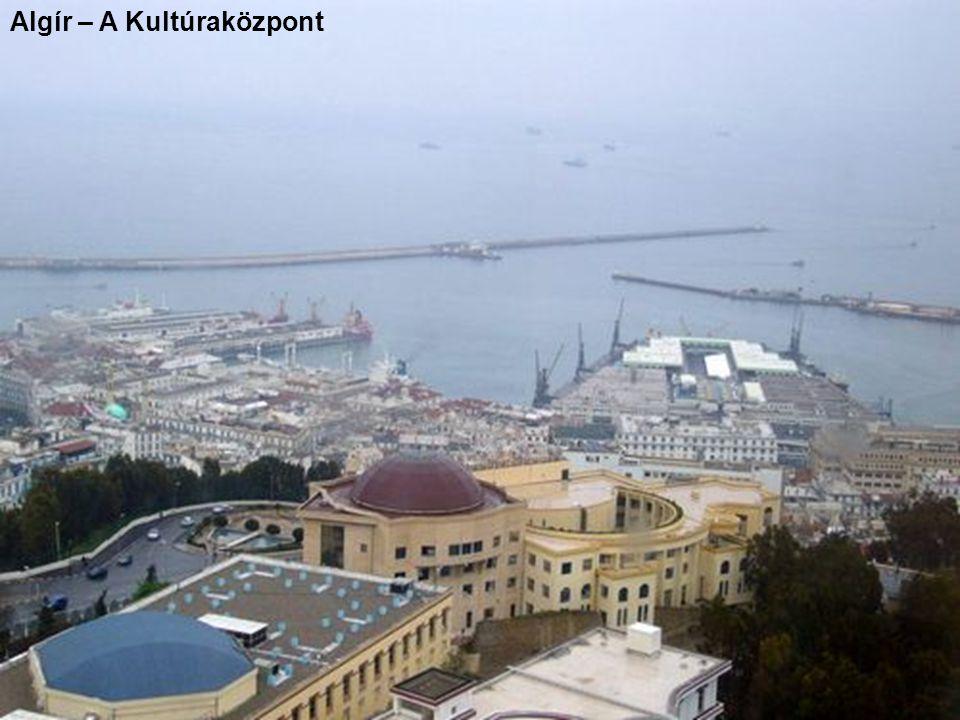 Algír – A Kultúraközpont
