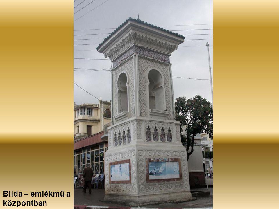 Blida – emlékmű a központban