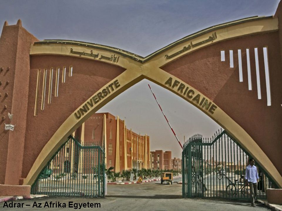 Adrar – Az Afrika Egyetem