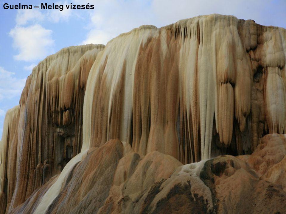 Guelma – Meleg vízesés