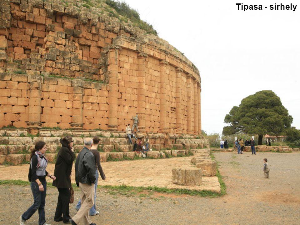 Tipasa - sírhely