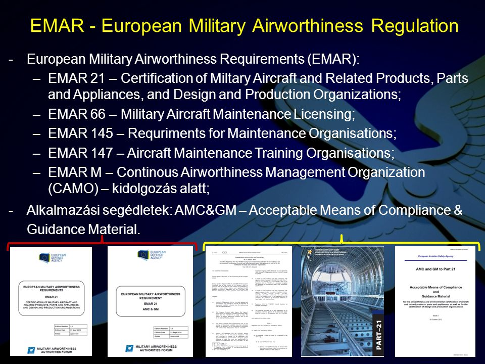 EMAR - European Military Airworthiness Regulation