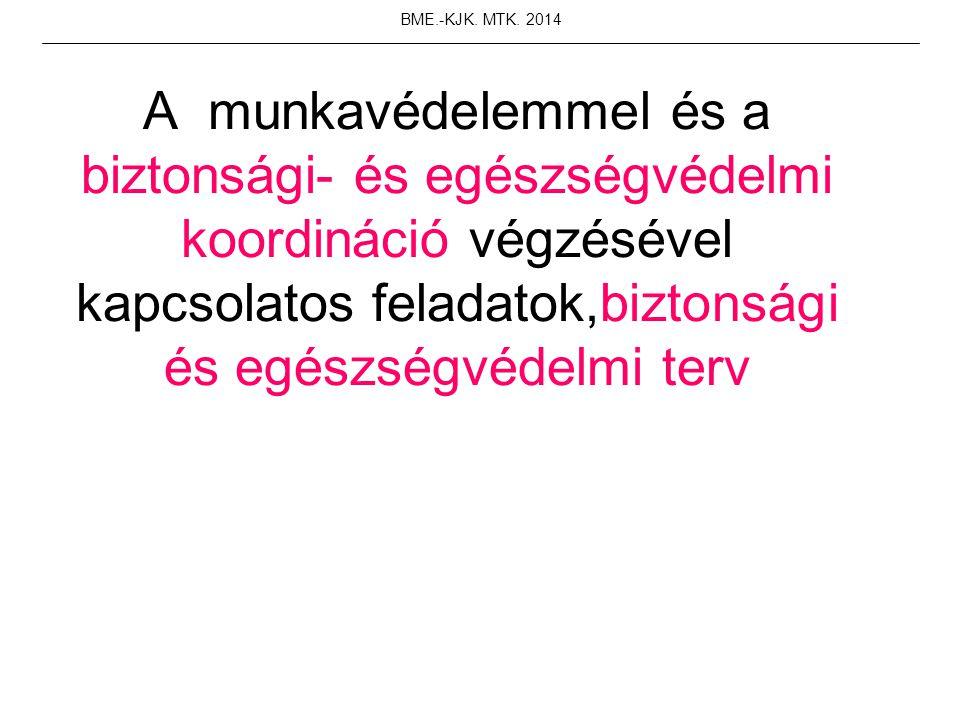 BME.-KJK. MTK. 2014