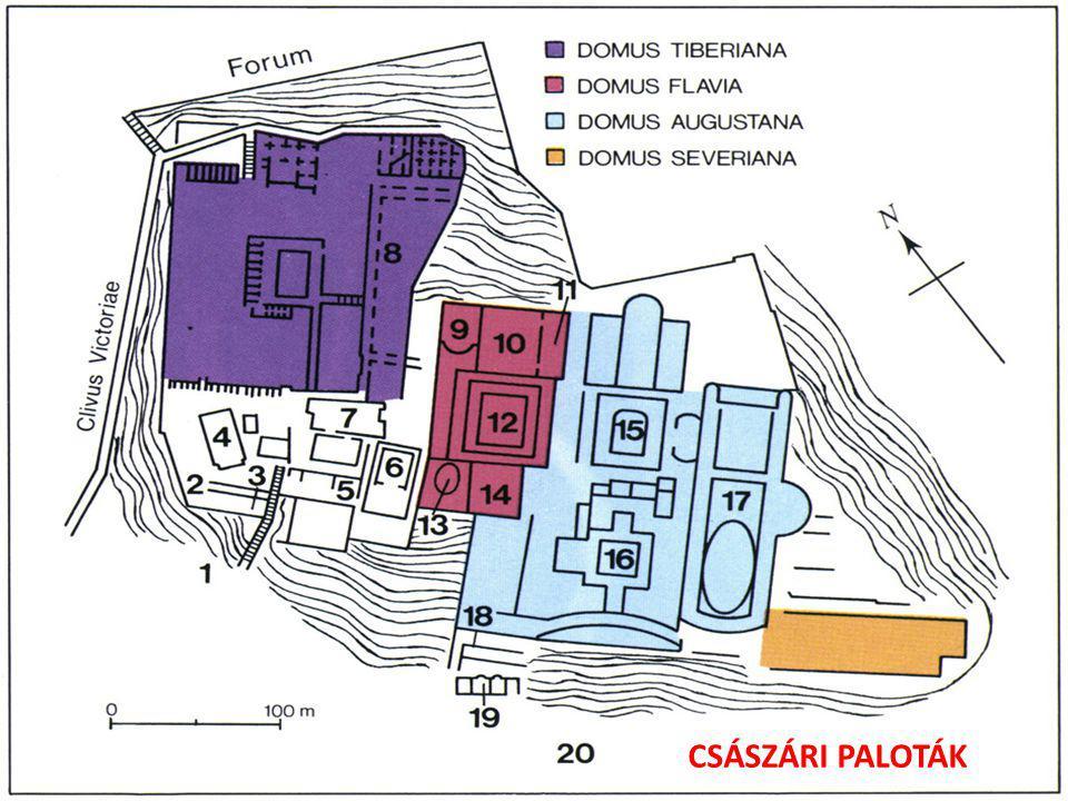 CSÁSZÁRI PALOTÁK