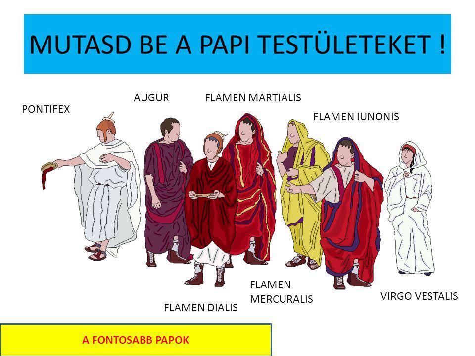 MUTASD BE A PAPI TESTÜLETEKET !