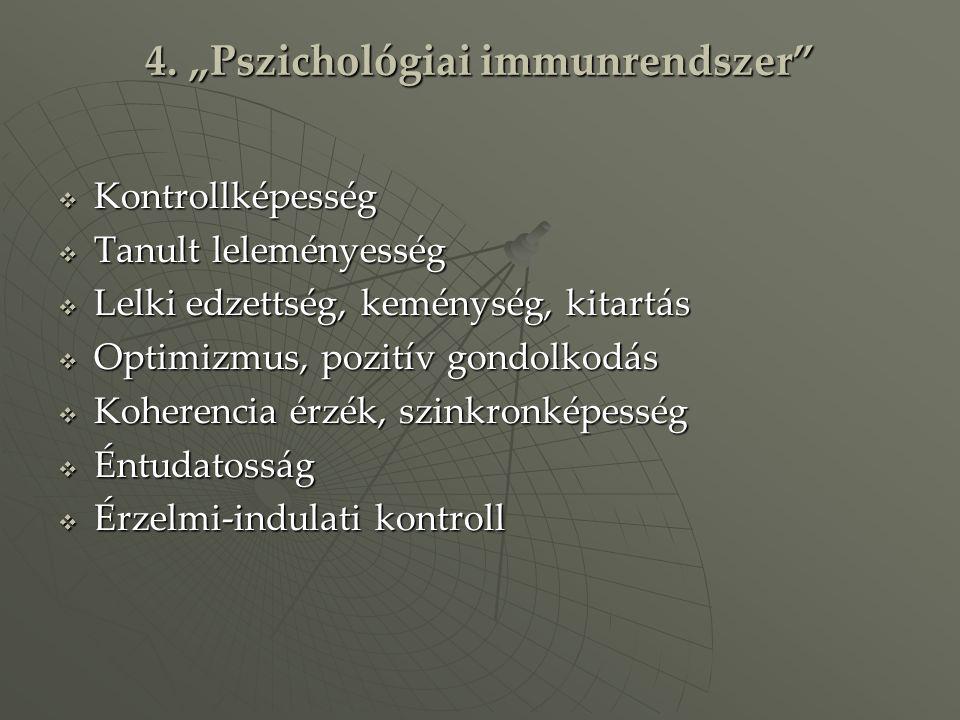 "4. ""Pszichológiai immunrendszer"
