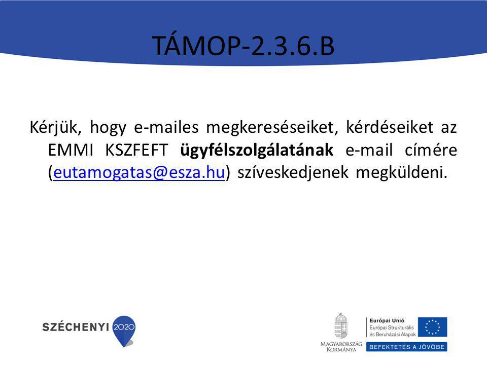 TÁMOP-2.3.6.B