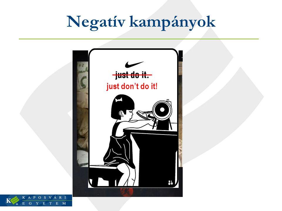 Negatív kampányok just don't do it!