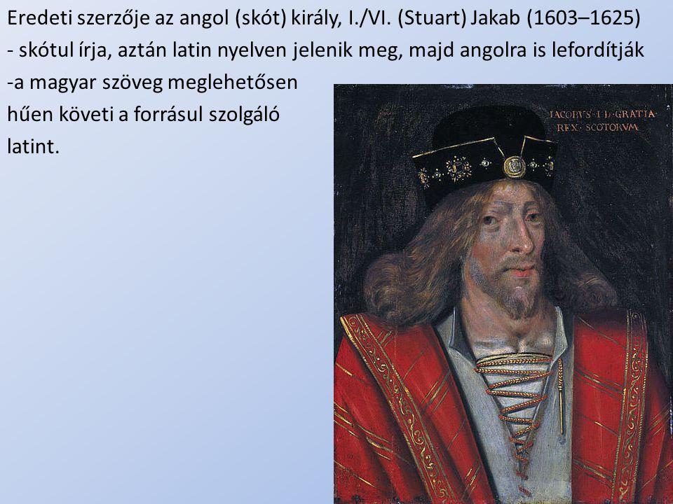 a magyar szöveg meglehetősen hűen követi a forrásul szolgáló latint.