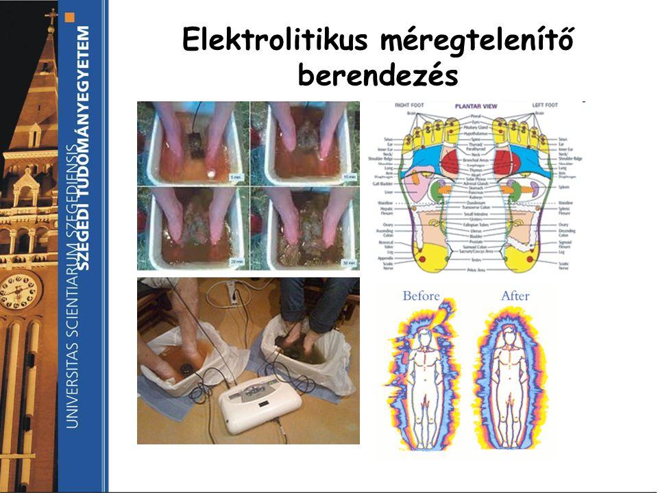 Elektrolitikus méregtelenítő berendezés