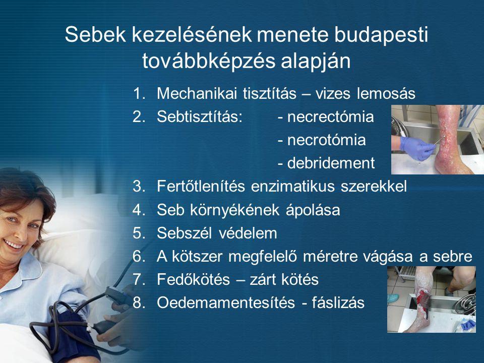 Sebek kezelésének menete budapesti továbbképzés alapján