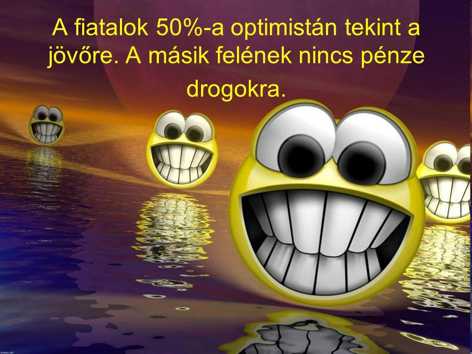 A fiatalok 50%-a optimistán tekint a jövőre