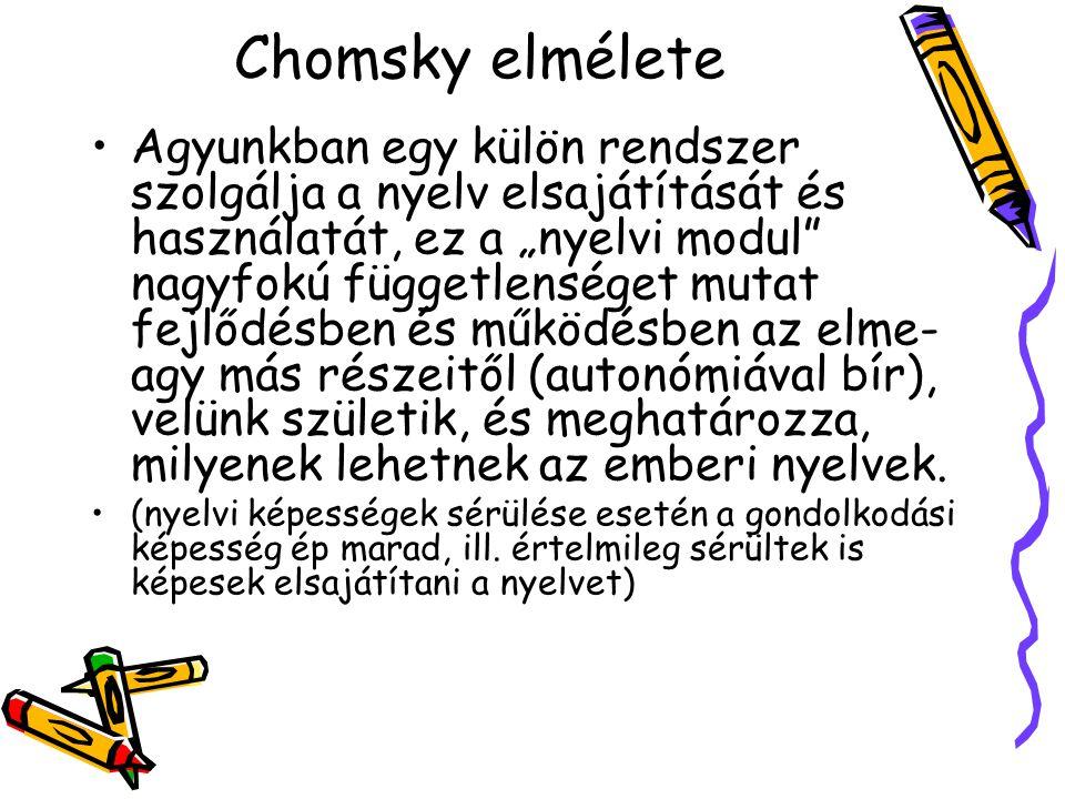 Chomsky elmélete