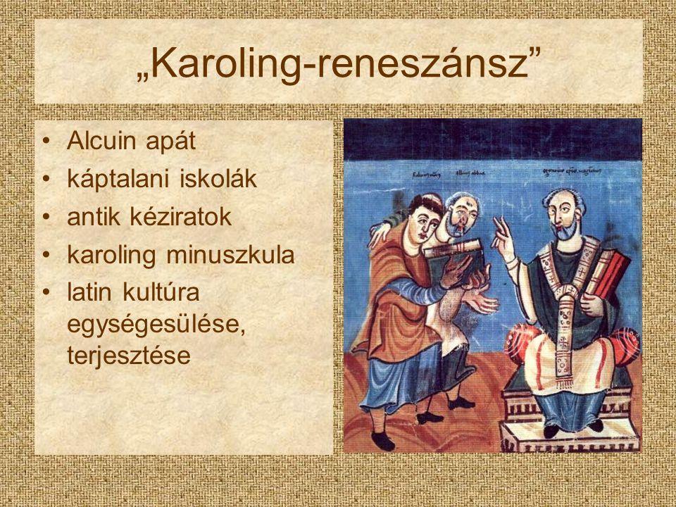 """""""Karoling-reneszánsz"""